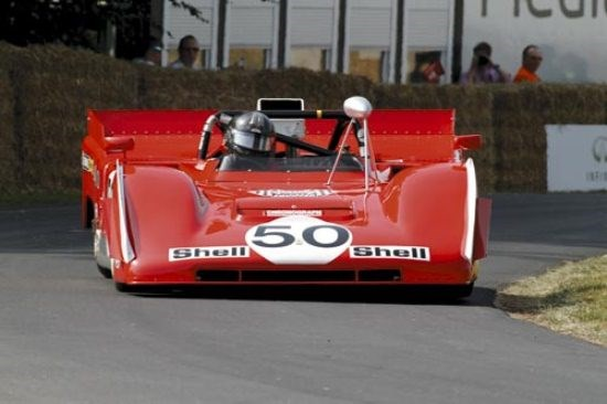 Goodwood: Ferrari 712 Can-Am