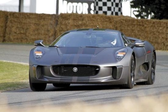 Goodwood Hillclimb: Jaguar C-X75