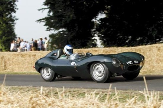 Goodwood: Jaguar D-Type