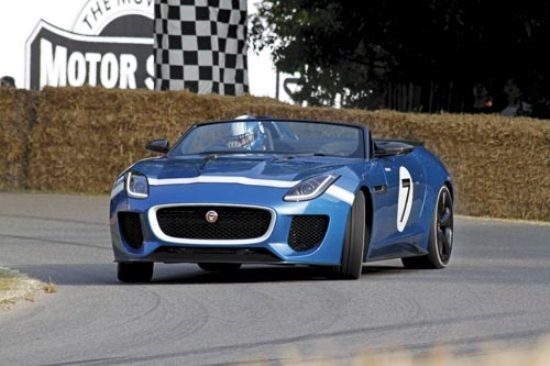 Goodwood Hillclimb: Jaguar 'Project 7 Concept'