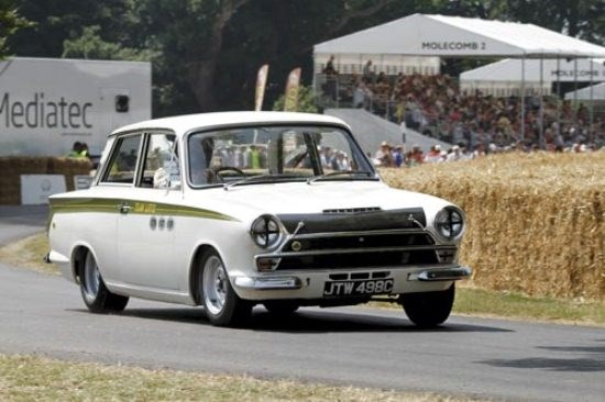 Goodwood: Mk1 Lotus Cortina