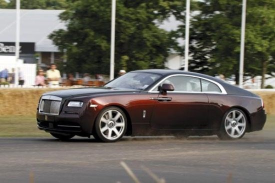 Goodwood Hillclimb: Rolls Royce Wraith