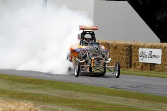 Goodwood: Austin Bantam 'Rat Trap' Dragster