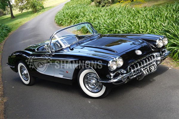 1958 Chevrolet Corvette RHD Roadster