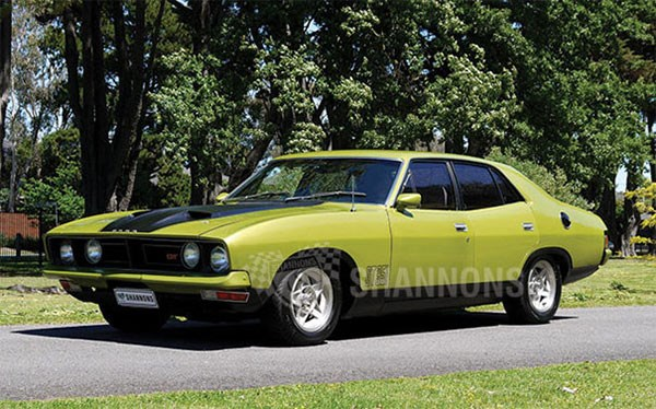 1975 Ford XB Falcon GT Sedan