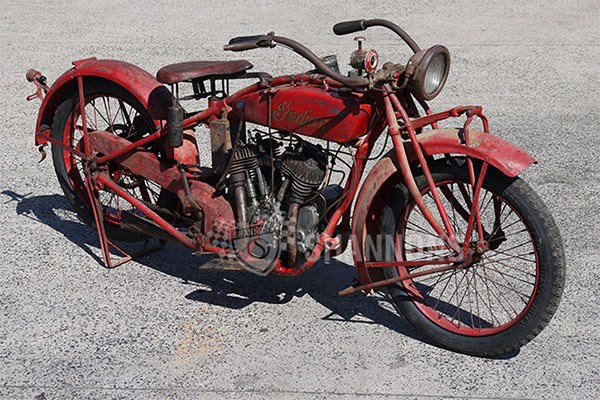 c1923 Indian Chief 1000cc Motorcycle