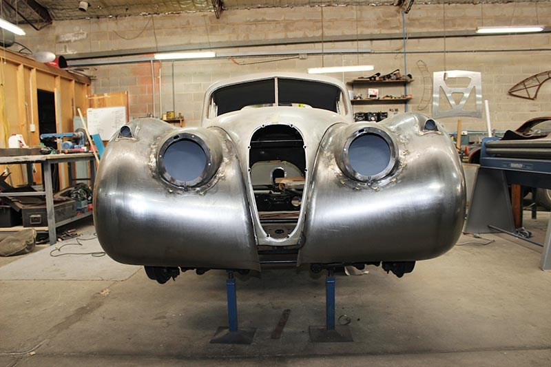 Historic & Vintage Restorations: Jaguar XK 120 Coupe