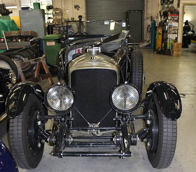 Historic & Vintage Restorations: Bentley