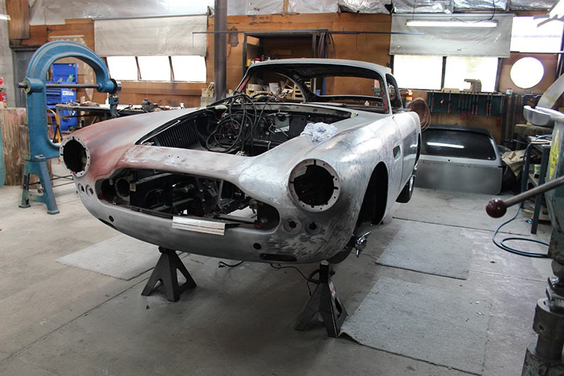 Historic & Vintage Restorations: Aston Martin
