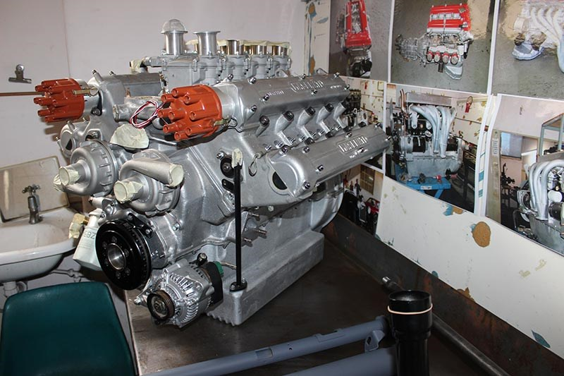 Historic & Vintage Restorations: Maserati engine