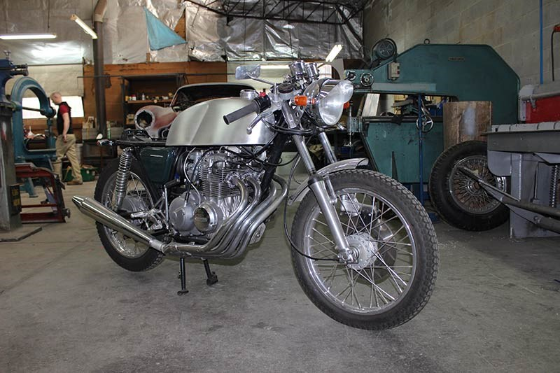 Historic & Vintage Restorations: Cafe racer