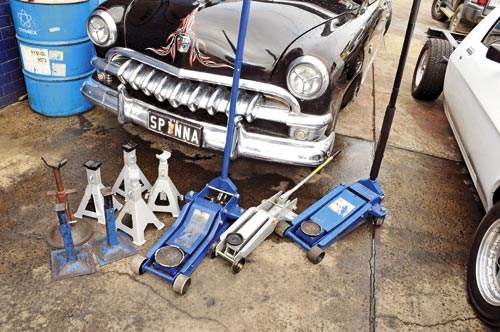 Trolley jacks: Know the weight of your car
