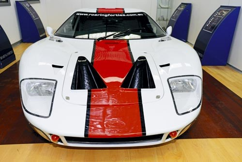 GT40 Tribute update