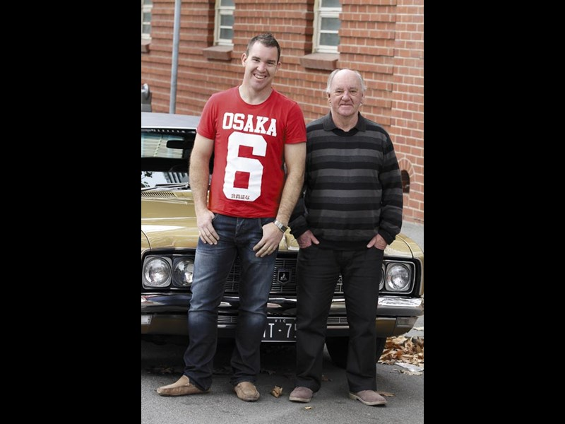 Dean Black with his father Bob