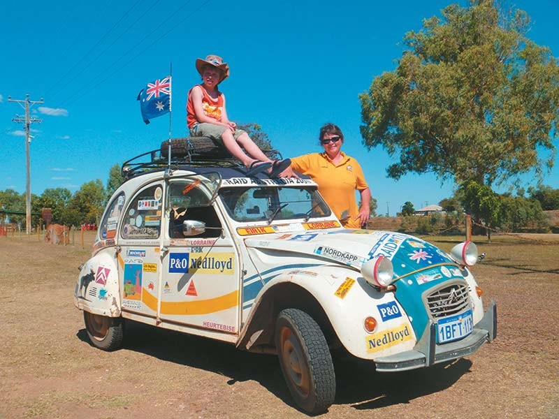 Citroen 2CV outback adventures