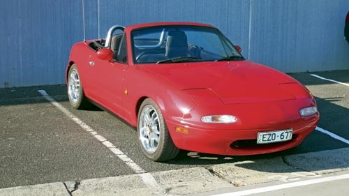 Our shed: 1990 Mazda MX-5