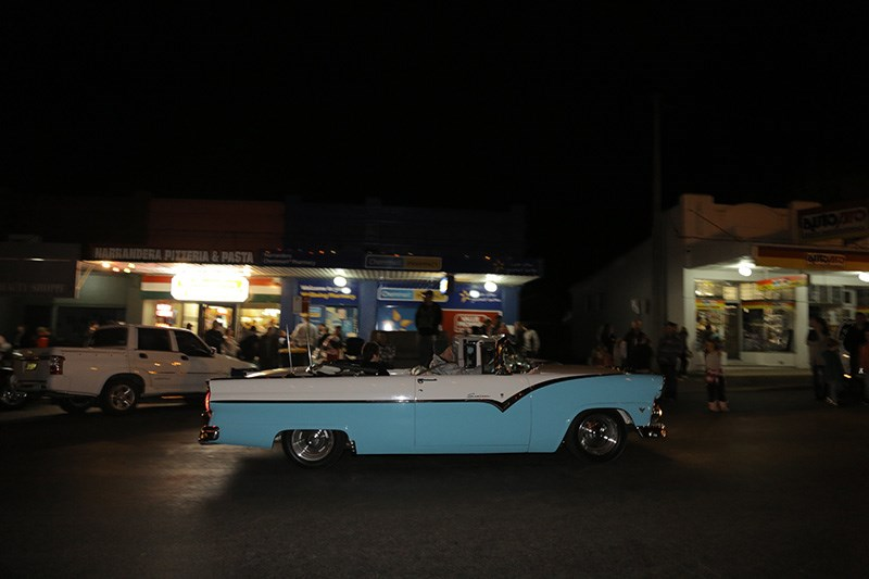 Narrandera Hot Rod Run 2014 - cruise night
