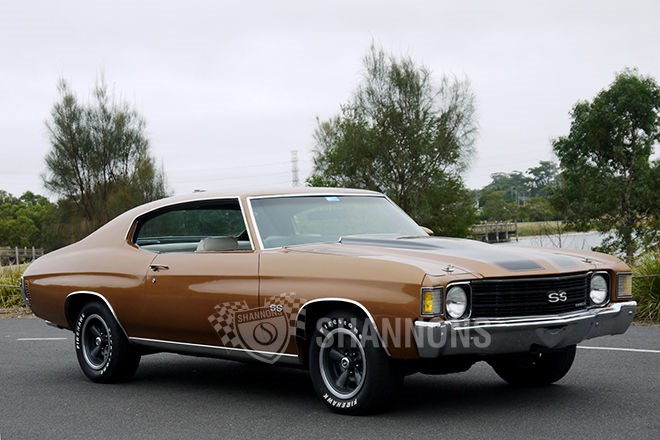 Shannons auctions: 1972 Chevrolet Chevelle SS 402ci V8