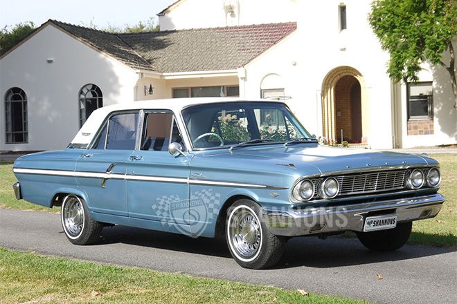 Shannons auctions: 1964 Ford Fairlane Compact sedan