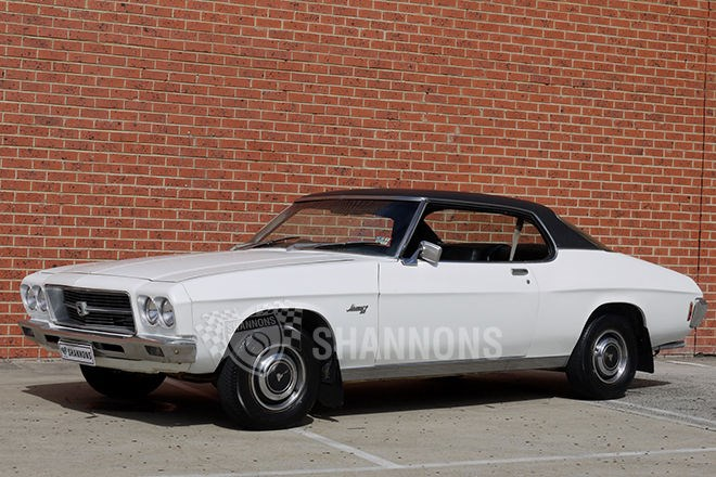 Shannons auctions: 1971 Holden HQ LS Monaro 253 coupe