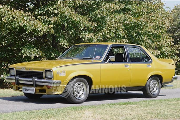 Shannons auctions: 1974 Holden Torana LH SL/R 5000