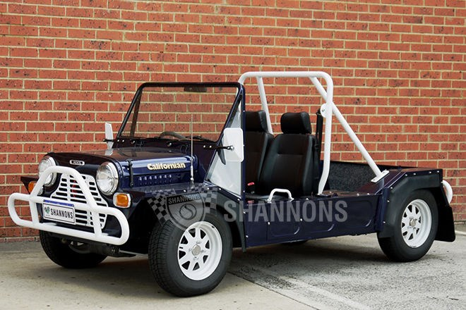 Shannons auctions: 1970 Leyland Mini Moke