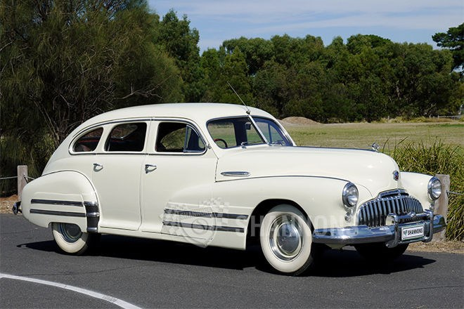 Shannons auctions: 1946 Buick 840 sedan (RHD)