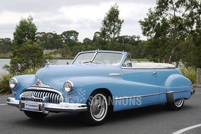 Shannons auctions: 1948 Buick Super 8 convertible (LHD)