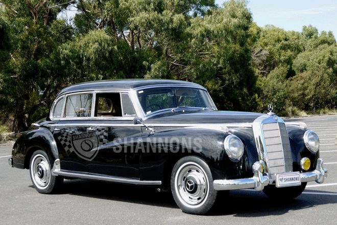 Shannons auctions: 1955 Mercedes-Benz 300B sedan