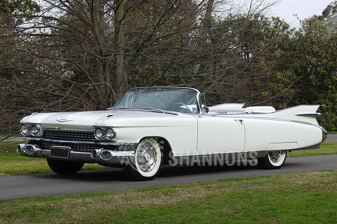 Shannons auctions: 1959 Cadillac Eldorado Biarritz convertible (LHD)