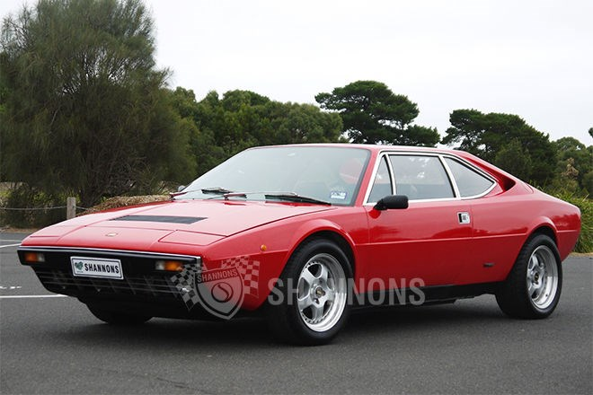 Shannons auctions: 1976 Ferrari Dino 308 GT4 coupe