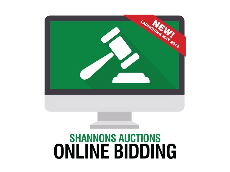 Shannons introduces online bidding