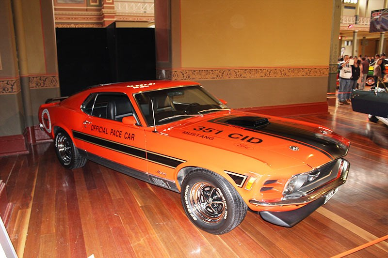 1970 Ford Mustang Mach 1 Fast Back