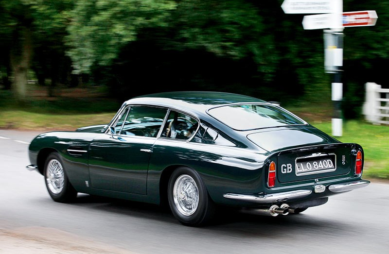 Beatles cars: Paul McCartney's 1966 Aston Martin DB6