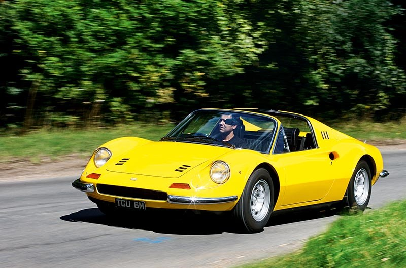 Beatles' cars: George Harrison's 1943 Ferrari Dino 246GT