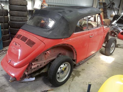 Our shed: 1976 VW Beetle Cabrio