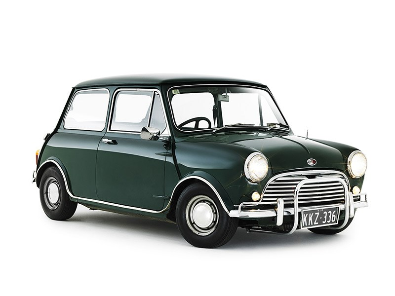 UK Classics: 1969 Mini Cooper S