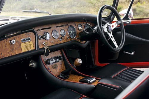 Harrington Sunbeam Alpine interior