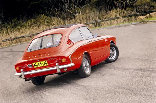 Harrington Sunbeam Alpine rear view