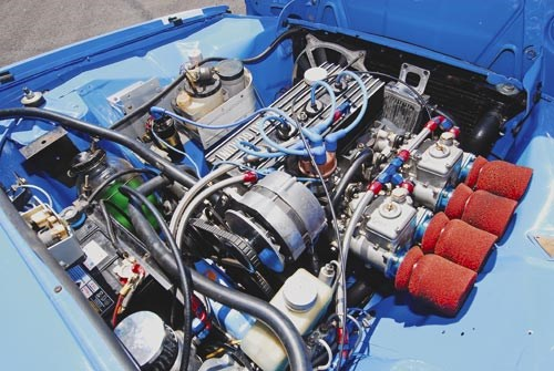 Renault 12 Gordini engine