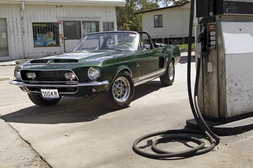 Ford Mustang GT500KR convertible