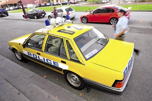 VL Commodore Police Interceptor - 1987