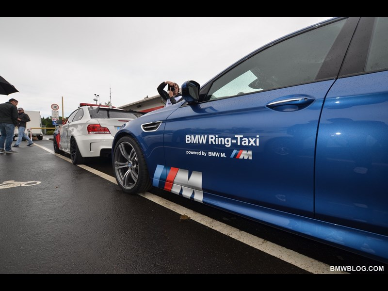 F10 BMW M5 Ring Taxi unveiled