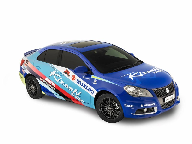 Suzuki GSX-R influences Kizashi concept car