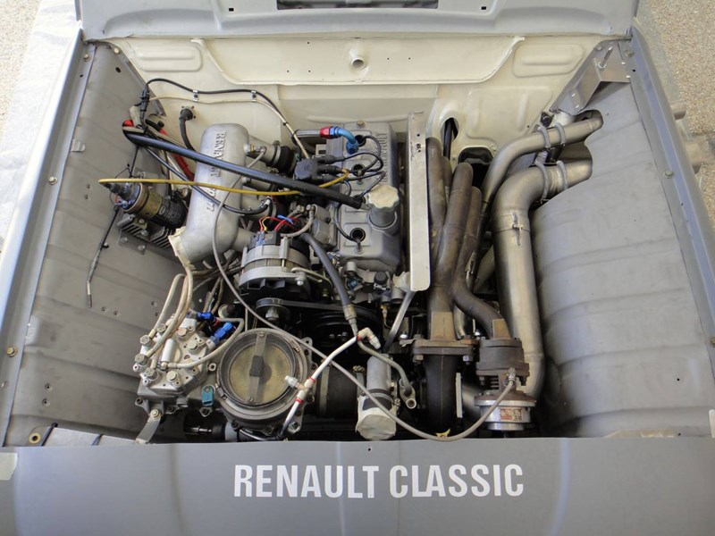 Record-breaker: modified Renault F4
