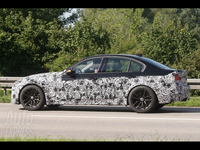 New M3: Spy shots
