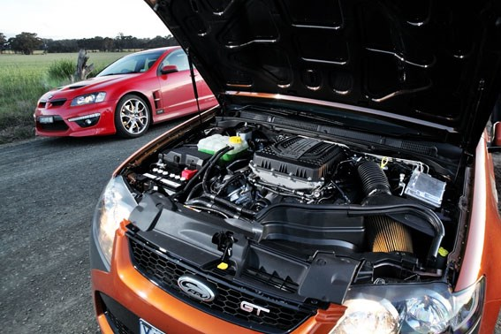 FPV supercharged V8