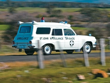 1964 Holden EH panel van Ambulance
