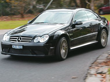 2008 Mercedes-Benz CLK 63 AMG Black Series