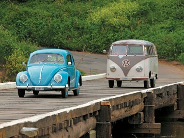 Volkswagen Beetle (1951) & VW Microbus (1954) Review